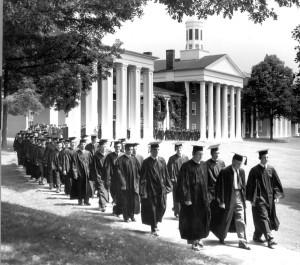 grad_procession1958