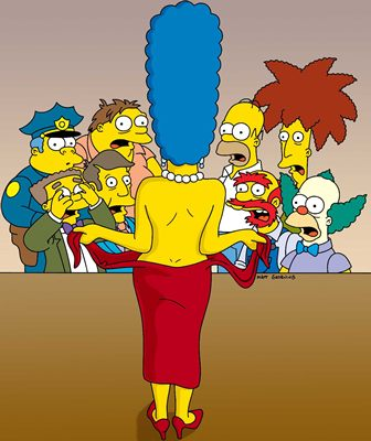 Naked rights mothers of brothers all about life with boys and life in general - Marge simpson nud ...